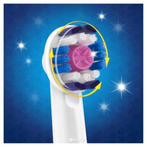 Brosse à dents électrique oscillo-rotative.